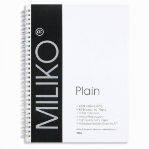 Miliko Transparent Best Work Notebooks